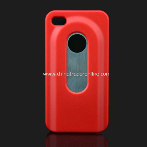 Opener for beer bottle opener mobile phone shell protection set iphone4/4S