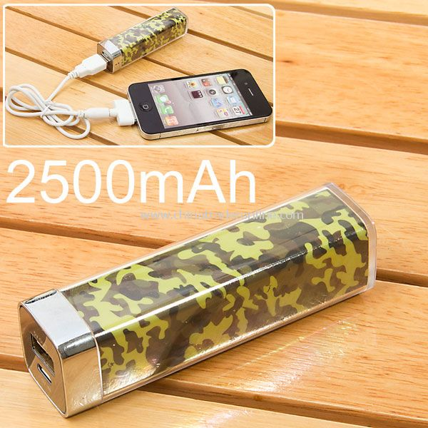 2500mAh Power Charger Battery Bank for iPhone 4/4S, Various Cell Phones and Digital Devices from China