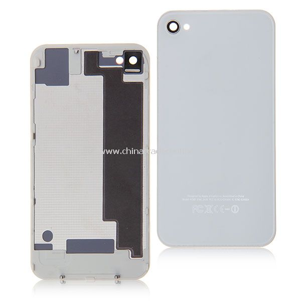 Metal Battery Replacement Back Cover Housing for iPhone 4S - White