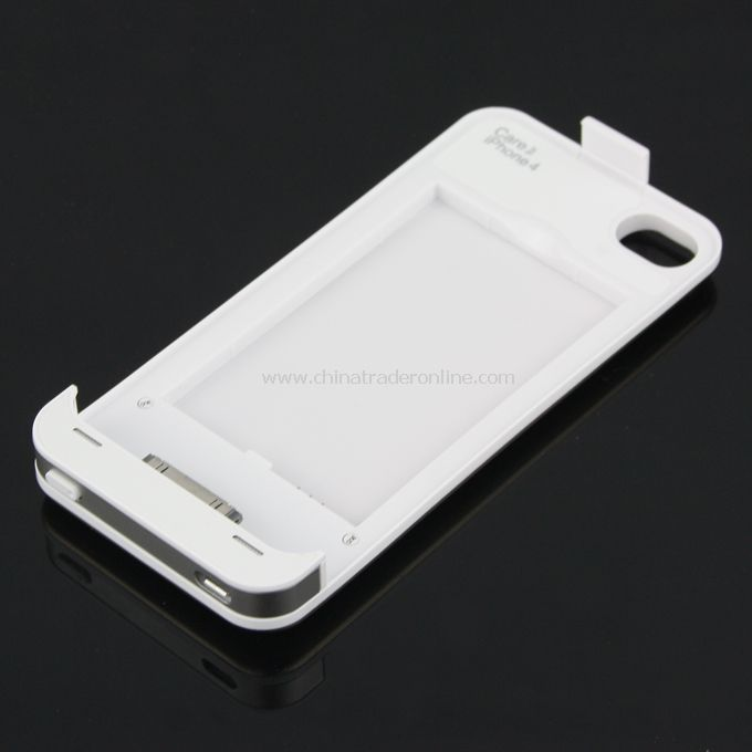 Rechargeable 1350 mAh External Battery Charger Case for Apple iPhone 4 4S