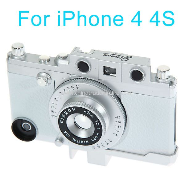 Retro Camera Style Hard Case for iPhone 4/4S