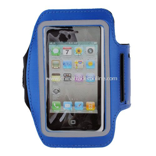 Sports Armband Case Cover Protector for iPhone 5 Blue