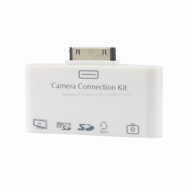 5 in1 AV Camera Connection Kit USB Card Reader for Apple iPad