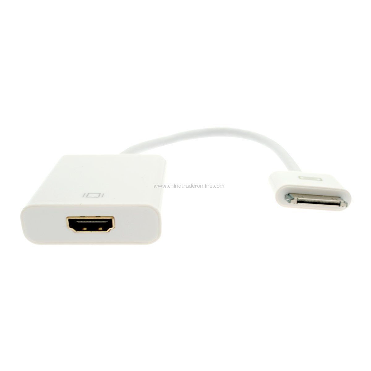 Dock Connector to HDMI Adapter Cable For Iphone 4G 4S iPod Touch Ipad2