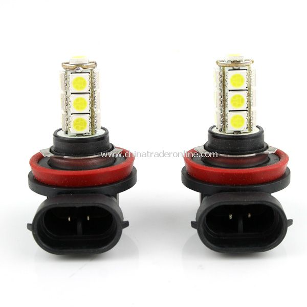 2 X H11 13LED 5050 SMD Lamps & Bulbs 12V Lamp Car Fog Light Bulbs New