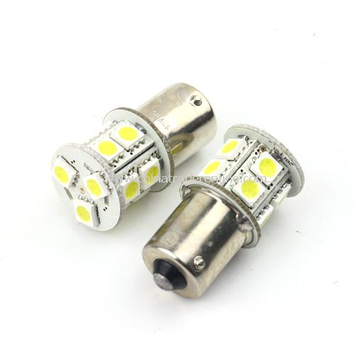 High quality 1156 single contact car LED turn light/backup light/brake lamp and head 5050 SMD