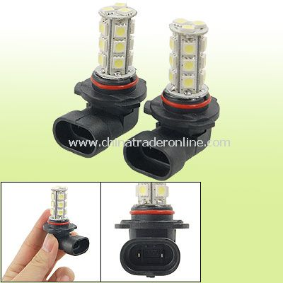 9005 HB3 18 5050 SMD LED Cold White Fog Light Bulbs Lamp for Auto Car