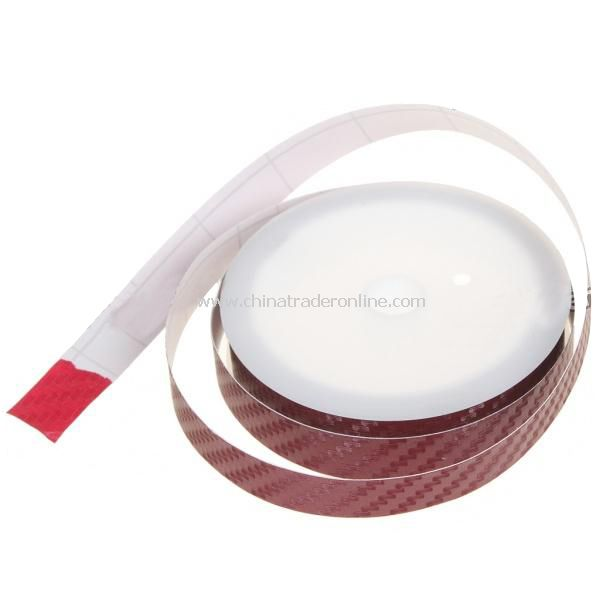 Car Decorative Tape Stripe - Red (4M-Length)