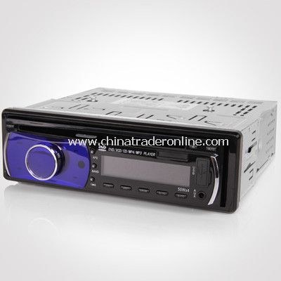 In Dash 1 Din Car CD MP3 MP4 DVD VCD Player FM AM radio LCD screen Detachable from China