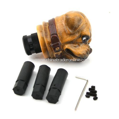 Universal Dog Shaped Manual Gear Stick Shift Shifter Lever Knob from China