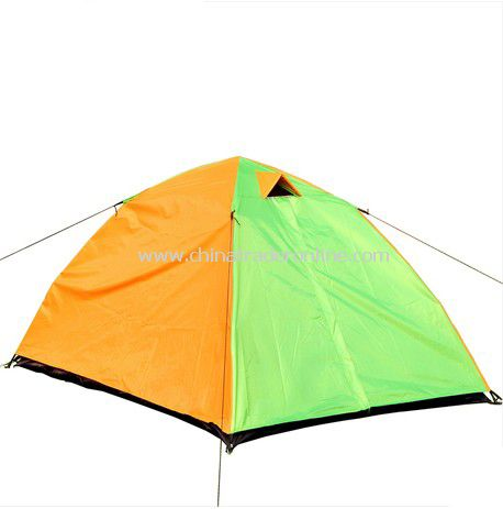 2 person Double layer outdoor camping tent
