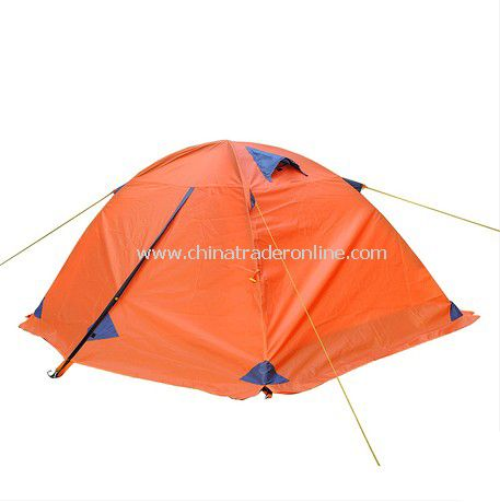 person Double layer outdoor camping tent for winter