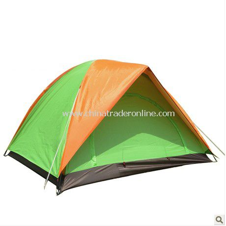 3-4 person Double layer outdoor camping tent