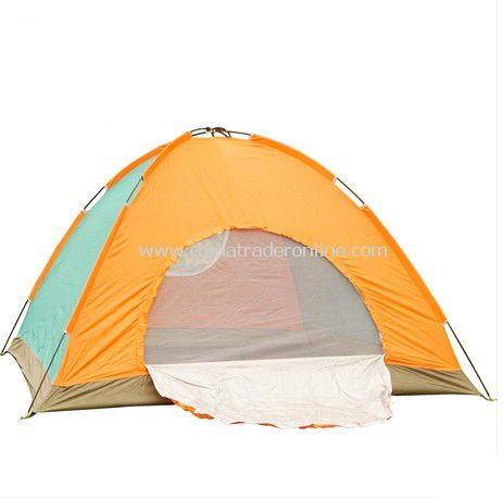 5 person Single layer outdoor camping tent assorted color