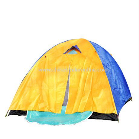 6 person Double layer outdoor camping tent