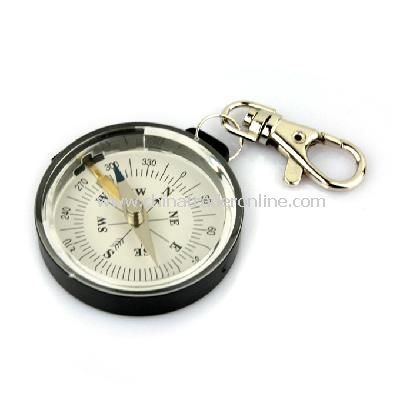 Mini Portable Outdoor Camping Keychain Survival Compass New