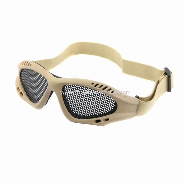 New Steel Mesh Goggle for Protecting Eyes Eyeglasses from China