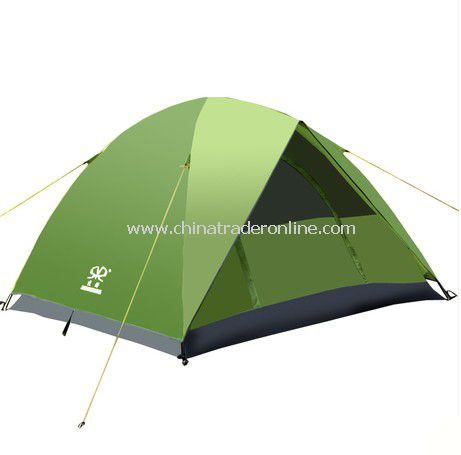 Sun Block 3-4 person Double layer outdoor camping tent