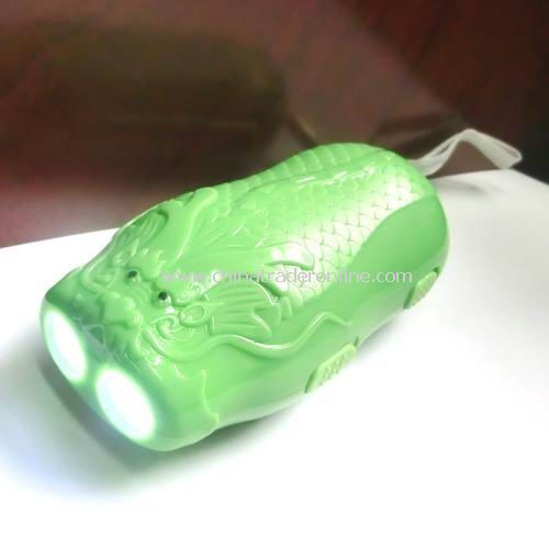With Dragonscale hand pressure charging Lamps Flashlight / torch Long Random color