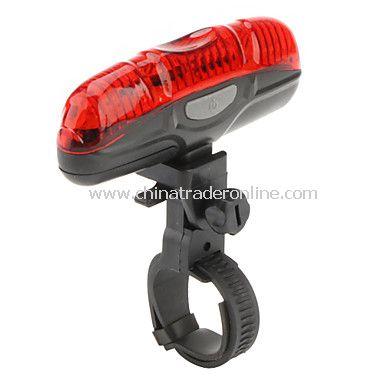 XJ-2212 5 LED Bicycle Bike Safety Light 2XAAA