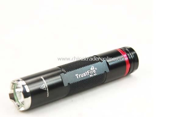 TrustFire R5-A3 CREE R5 LED 250 Lumen 3 Mode Flashlight 1XAA/14500(not with battery)