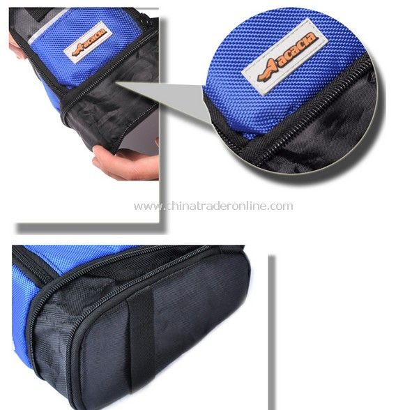 2012 New Cycling Bicycle Bike Saddle Outdoor Pouch Back Seat Bag blue