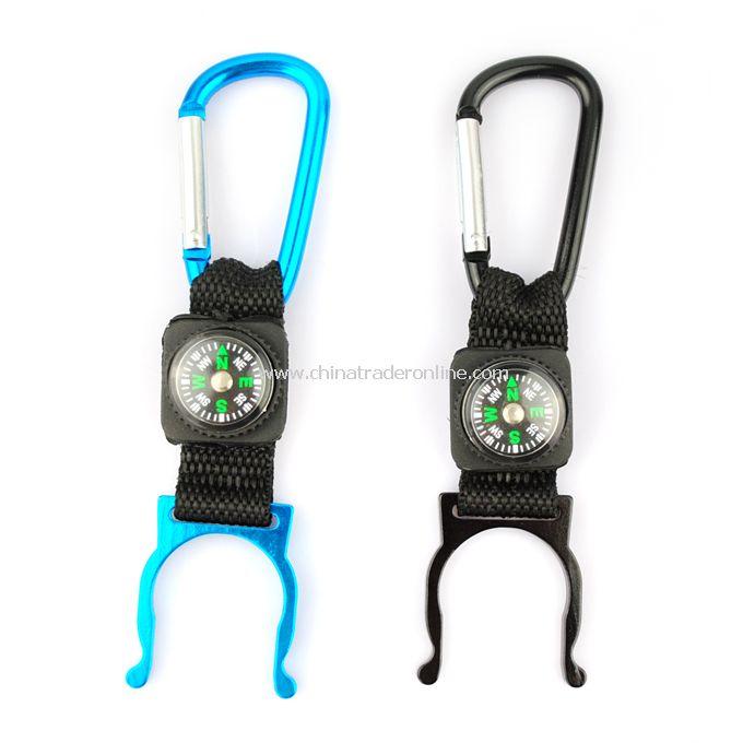 Aluminum Alloy Water Bottle Buckle Holder Hook for Hiker Camper from China