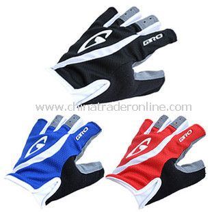 Bicycle gloves riding gloves half finger mountain bikes fingerless gloves