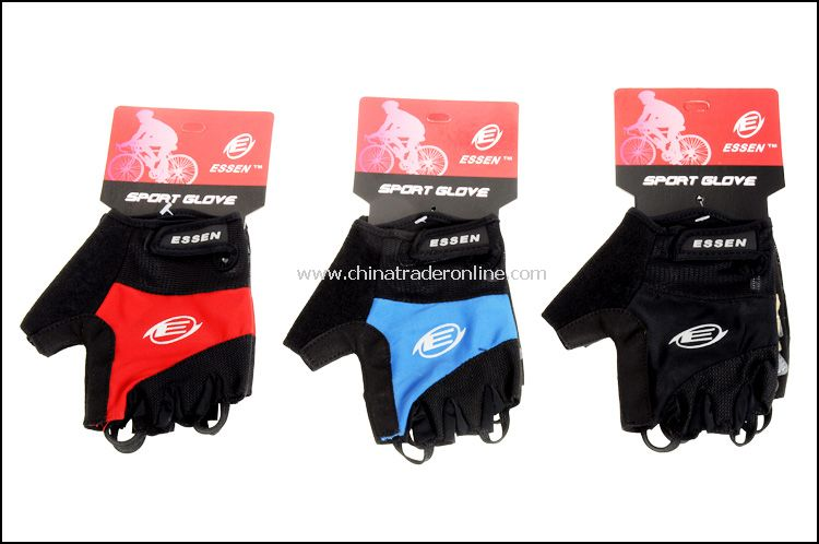 Fashionable outdoor cycling half finger gloves