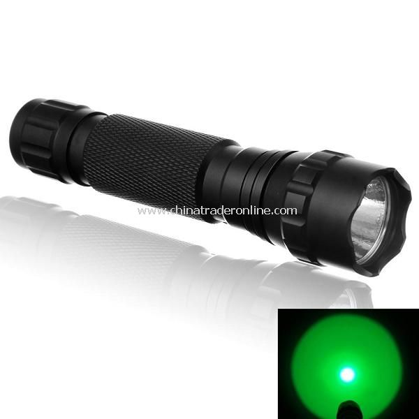 UltraFire WF-501B CREE Green Light LED Flashlight Torch Light 1X18650(Battery Excluded)