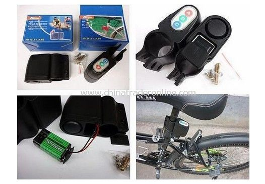 Audible Sound Lock Security Alarm for Bicycle