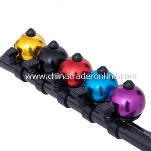 Full multicolors Bell w Ball Shape for Bike Bicycle Users
