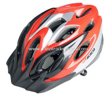 NEW Cycling Bicycle MERIDA Adult Mens Bike Helmet RED with Visor