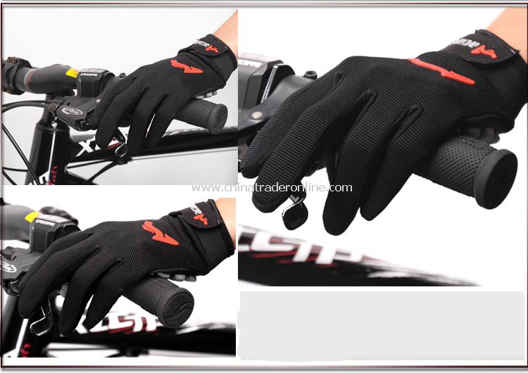 Shockproof Ventilation Bicycle gloves Mountain biking gloves