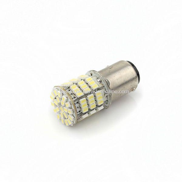 Car 1157 Tail Brake White 85-SMD LED Light Bulb Lamp