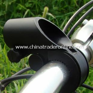 Cycling Bicycle Flashlight LED Torch Light Holder Grip Mount Bike Clamp Clip New