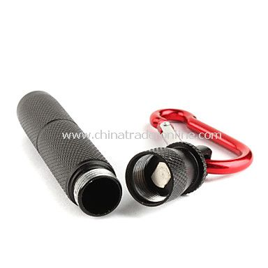 FX 8032 3W Aluminum LED Flashlight Torch Light 1XAAA Black