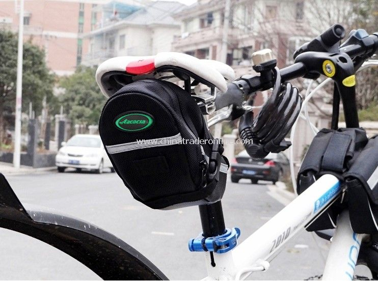 NEW Easy Cycling Bicycle Bike Saddle Outdoor Pouch Back Seat Bag