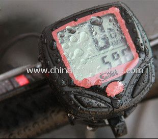 Waterproof Wireless Cycle Computer Bicycle Bike Meter Speedometer from China