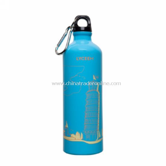 Aluminum sports bottle large capacity of outdoor equipment, bicycle cups 750ml