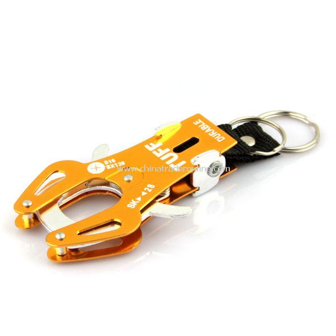 Durable Carabiner Clip Climb Hook Lock Keyring Keychain