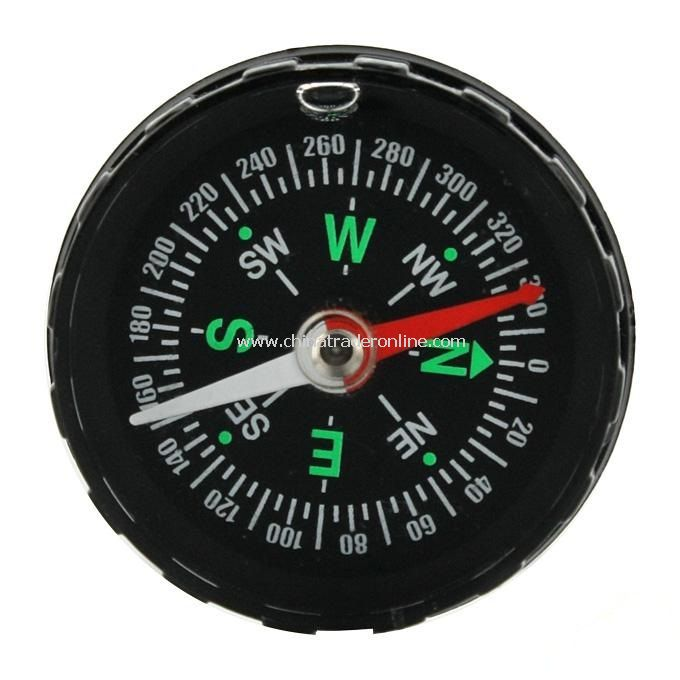 Mini Round Navigation Desktop Compass for Travel Camping Hiking