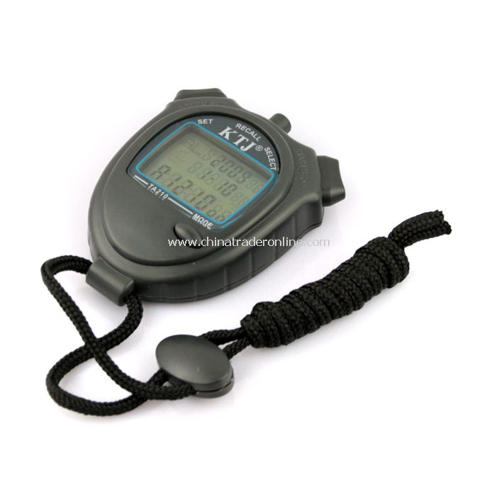 New Portable Accurate Electronic Sport Watch (TA210, 10 channels)