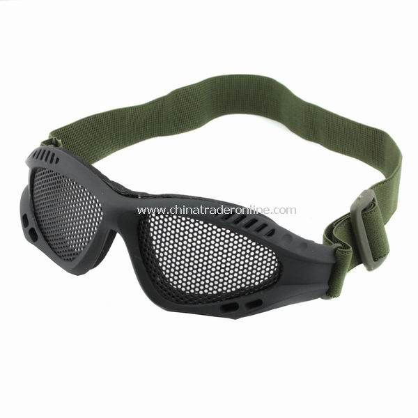 New Steel Mesh Goggle for Protecting Eyes Eyeglasses