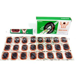 Strong BICYCLE TIRE REPAIR KIT WITH PATCHES AND GLUE from China