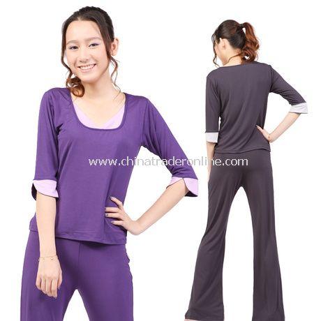 Viscose Fiber Women Yoga Clothing