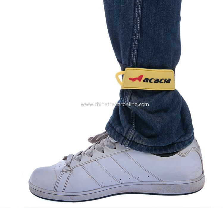 Bicycle bound feet belt with Reflective stripe