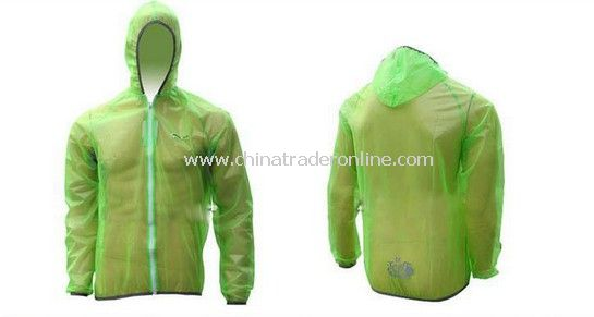 Cycling Pro Rain Coat green from China