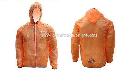 Cycling Pro Rain Coat yellow