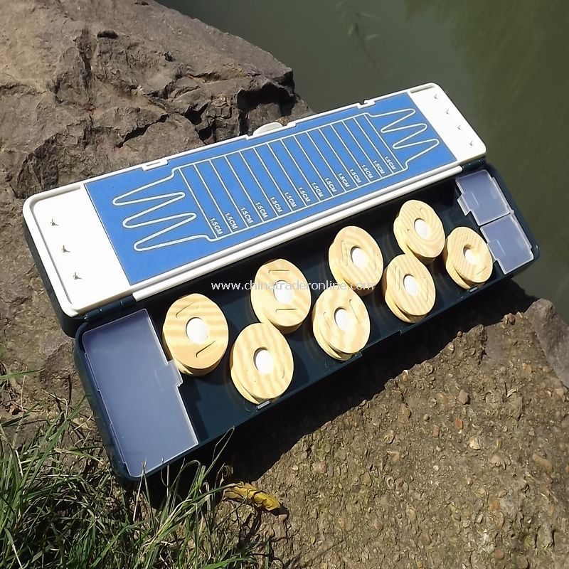 Multi-function fishing Double float box